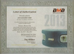 BMB Authorized Dealer 2013